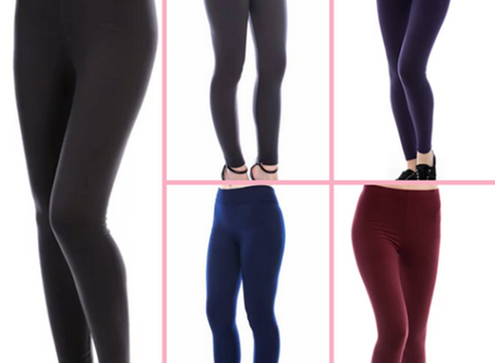 WE CAN'T GET ENOUGH OF SOLID COLOURED LEGGINGS