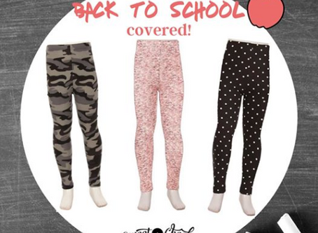BACK TO SCHOOL WITH SWEET CHEEKS