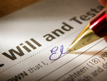4 Reason You Need to Update Your Will.