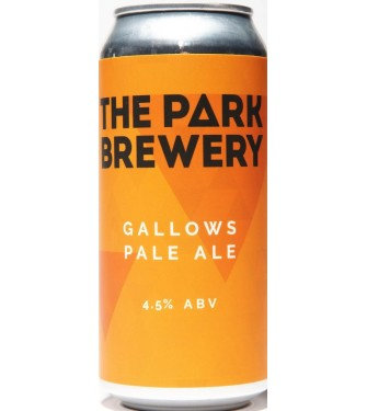 PARK BREWERY GALLOWS GOLD 440ML CAN 4.5%