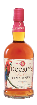 DOORLYS 5 YEAR OLD RUM 40%