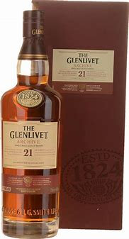 THE GLENLIVET ARCHIVE 21 YEAR OLD MALT WHISKY