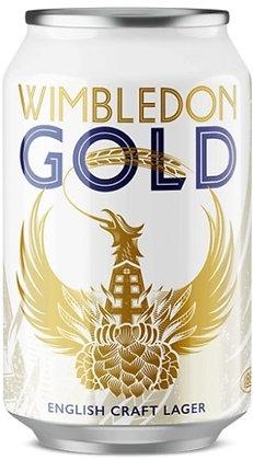WIMBLEDON GOLD LAGER CANS 330ML