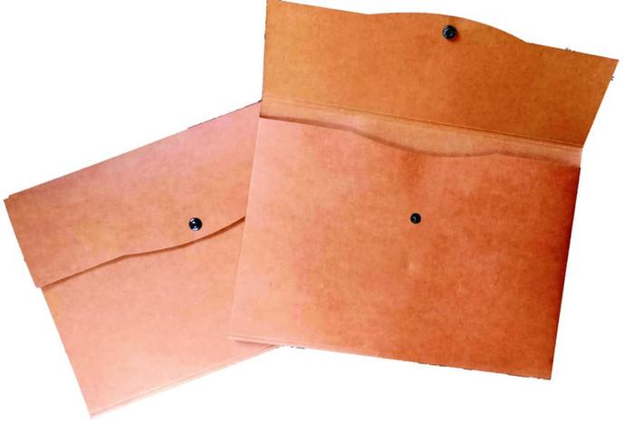 Non-plastic Button Folder