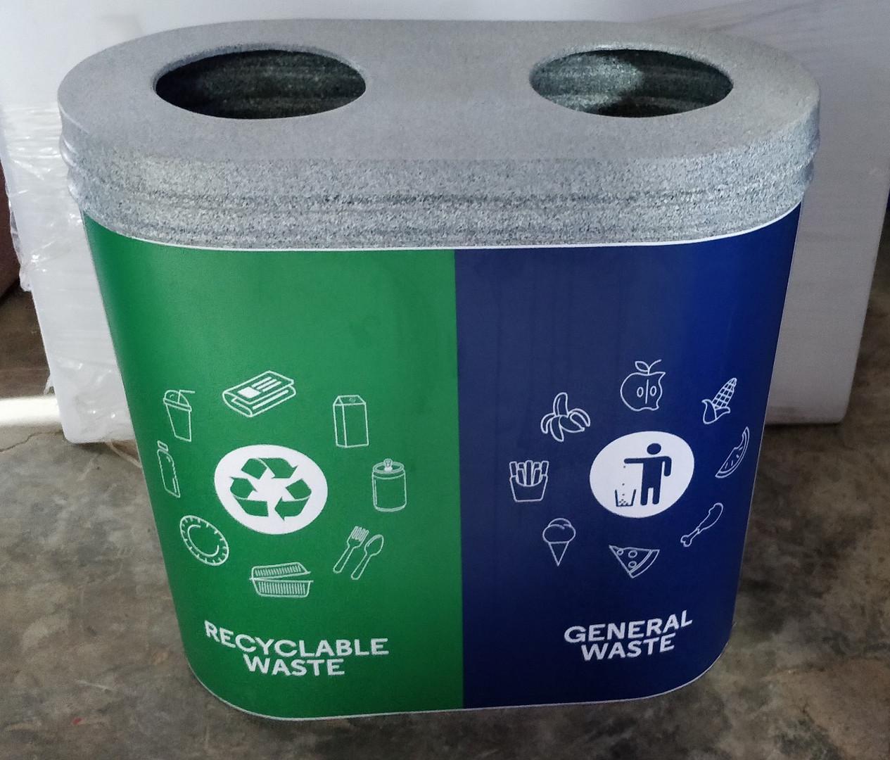 Garbage Bin - 2-in-1