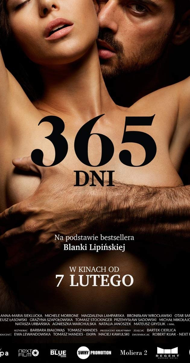 Vem saber tudo sobre 365 dni da Blanka Lipinska