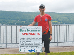 Community Center Holds Fishing Fundraiser