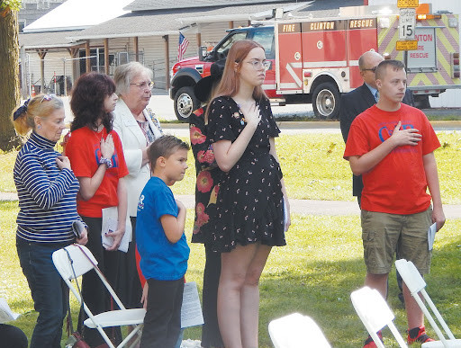 Ceremony Honors Those Who Died