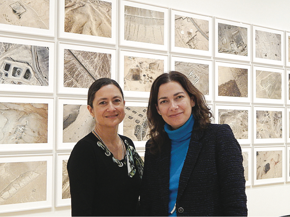 Anja Chavez, museum director at Colgate University, and Tracy Adler, museum director at Hamilton College, worked together on an exhibit that includes both academic museums and Skidmore and SUNY Albany.