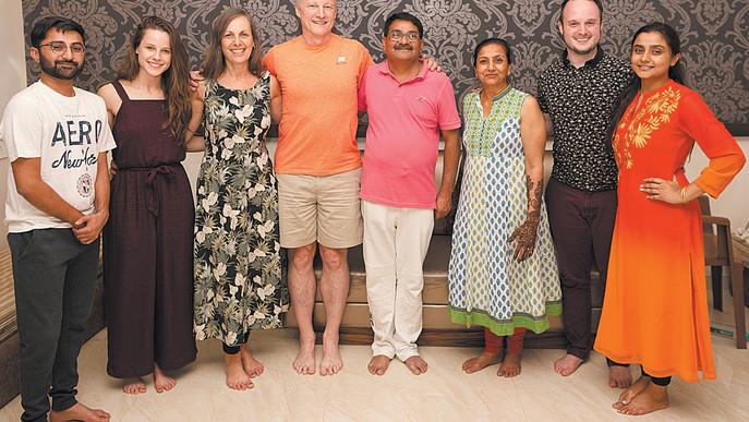 We Bid A Fond Farewell To India, Komal