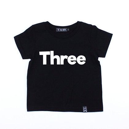 T-Shirt Bébé Anniversaire/Alpha