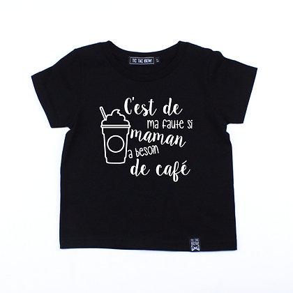 T-Shirt Café Corsé