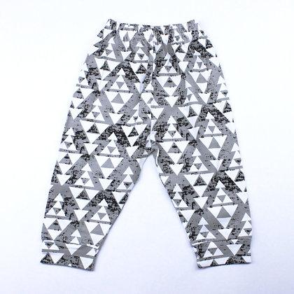 Pantalon Géo Gris