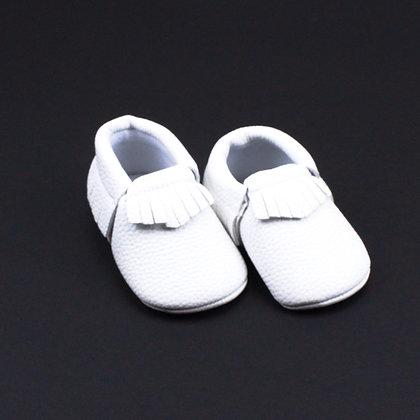 Mocassins Blancs