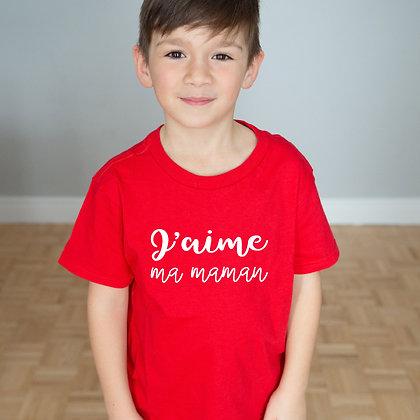 T-Shirt '' J'aime ''
