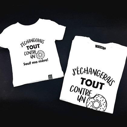 Duo T-Shirt Tout Contre un  🍩