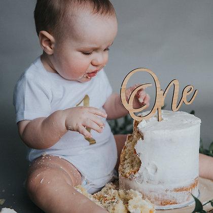 Cake Topper ''Âge''