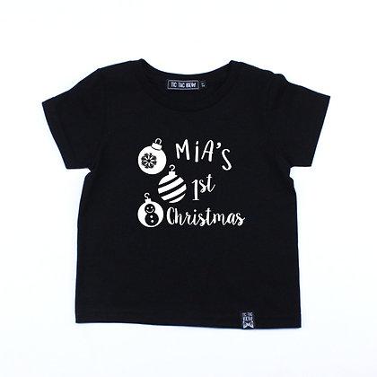 T-Shirt Premier Noël personnalisé