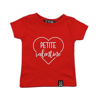 T-Shirt ''Petit Valentin/Petite Valentine''