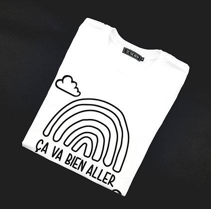 T-Shirt Adulte Arc-En-Ciel