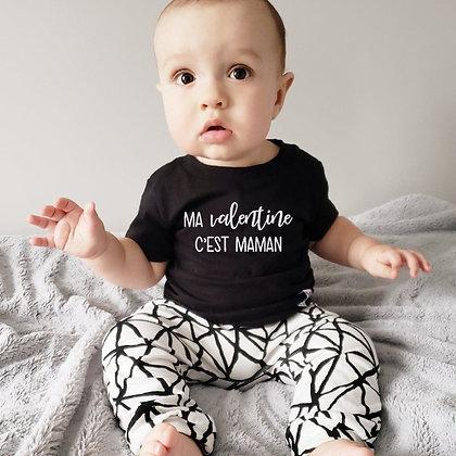 T-Shirt ''Ma Valentine/Mon Valentin''