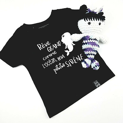 T-Shirt Petite Sirène