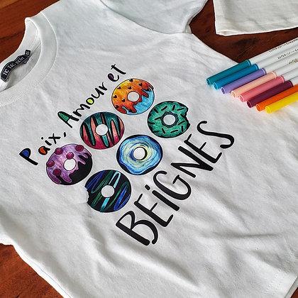 T-Shirt Adulte Beignes