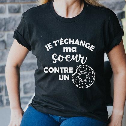 T-Shirt Adulte Beignes SVP