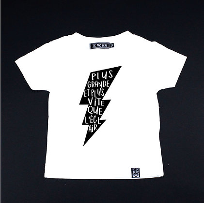 T-Shirt Super-Héros ''Éclair''