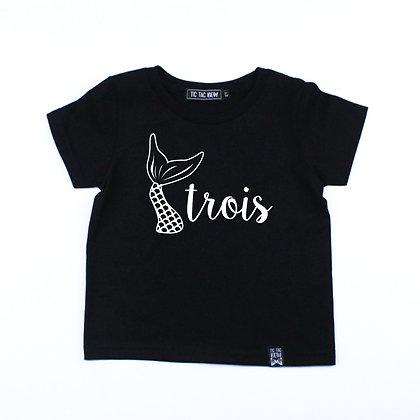 T-Shirt D'Anniversaire / Sirène