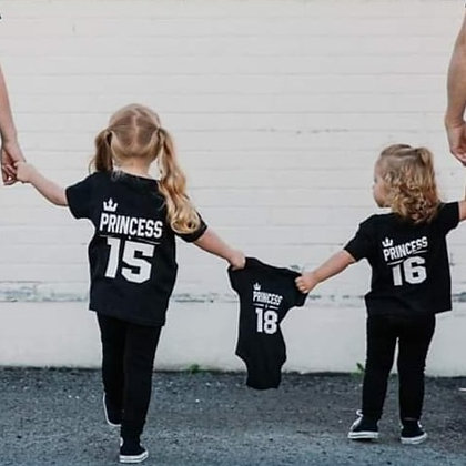 T-Shirt Famille Personalisé