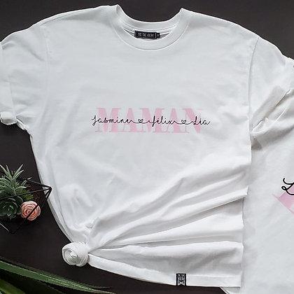 T-Shirt Adulte '' Maman ''
