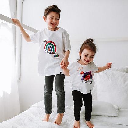 T-Shirt Arc-En-Ciel