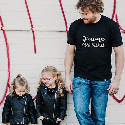 T-Shirt Adulte '' J'aime ''