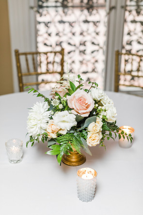 Glass and White Votives