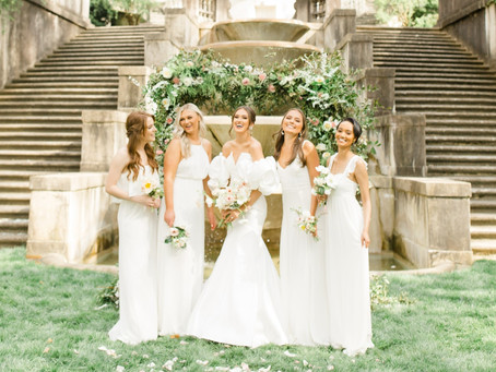 The All-White Bridal Party Trend We're Loving