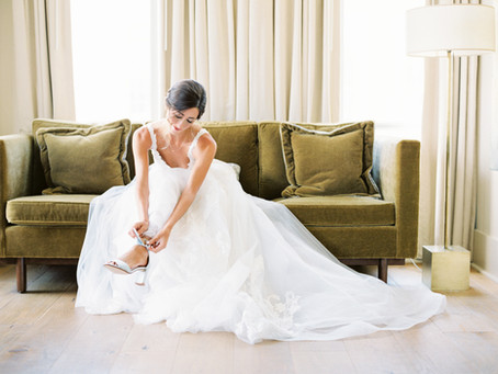 Step in Style – A Brides Guide to the Perfect Shoe!
