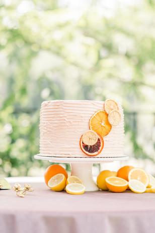 White Ceramic Cake Stand