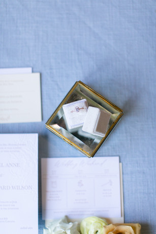 White Velvet Ring Box