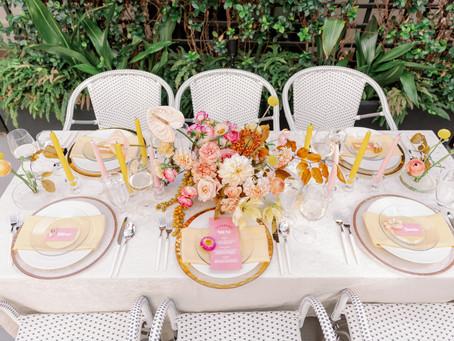 Retro Inspired Wedding Styled Shoot