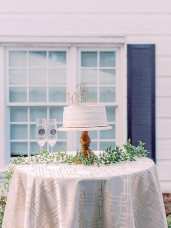 Wooden Cake Stand With Glass Top