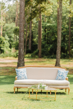 Medium Blue Patterned Pillows