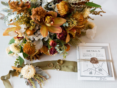 How to Incorporate the Fall Season Into Your Fall Wedding