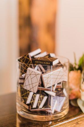 Glass Matchbox Holder