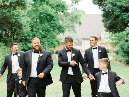 Fun Groom + Groomsmen Ideas for the Morning of the Wedding