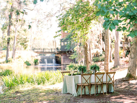 Natural Outdoor Summer Wedding