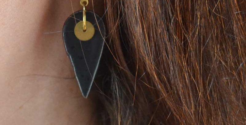 Boucles d'oreilles Tourmaline