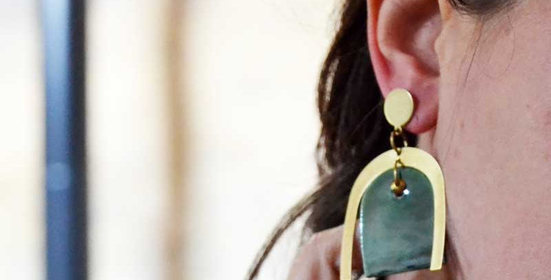 Boucles d'oreilles Amazone
