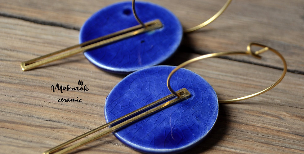 Boucles d'oreilles BLUE MOON