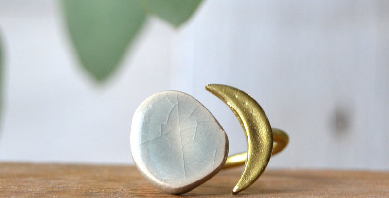 Bague Lune